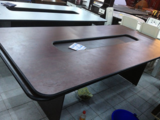 会議用テーブル